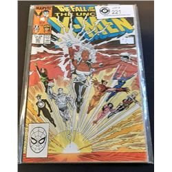 Marvel Comic The Fall of the Mutants The Uncanny X-Men #227