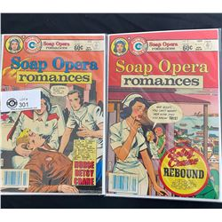 Charlton Comics Soap Opera Romances #1 - #2