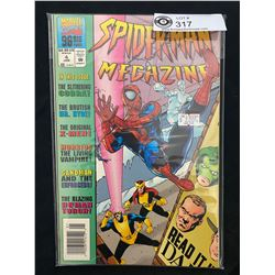 Marvel Comics Spiderman Megazine #4