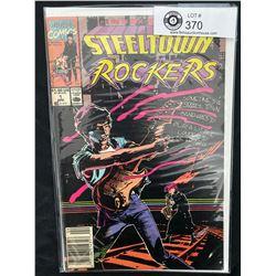 Marvel Comics Steeltown Rockers #1