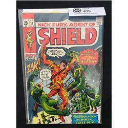Marvel Comics Nic Fury, Agent Of Shield #17