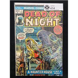 Marvel Comics Dead Of Night #1