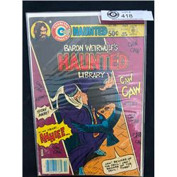 Charlton Comics Baron Weirwolf's Haunted Library #58