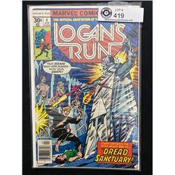 Marvel Comics Logan's Run #4