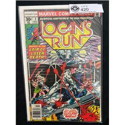 Marvel Comis Logan's Run #3