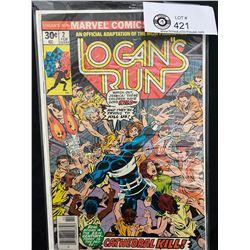 Marvel Comis Logan's Run #2