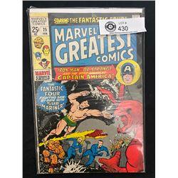 Marvel Comics Marvel's Greatest Comics #25