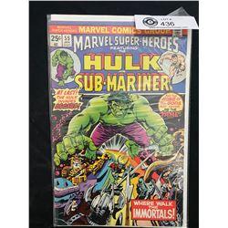 Marvel Comics Hulk And Sub-Mariner #55