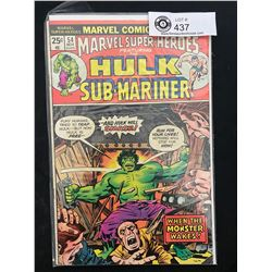 Marvel Comics Hulk And Sub-Mariner #54