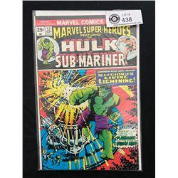 Marvel Comics Hulk And Sub-Mariner #52