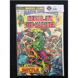Marvel Comics Hulk And Sub-Mariner #51