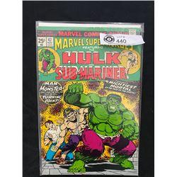 Marvel Comics Hulk And Sub-Mariner #47