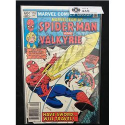 Marvel Comics Spiderman And Valkyrie #116