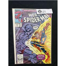 Marvel Comics Web Of Spiderman #61