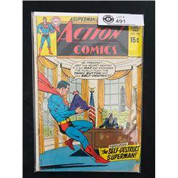 DC Comics Superman's Action Comics #390