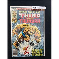 Marvel Comics The Thing Battles Thundra #56