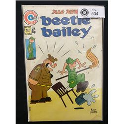 Charlton Comics Beetle Bailey #105