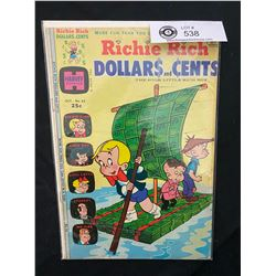 Harvey Comics Richie Rich Dollars And Cents #63