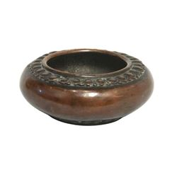 A BRONZE BRUSH WASHER XUANDE MARK.
