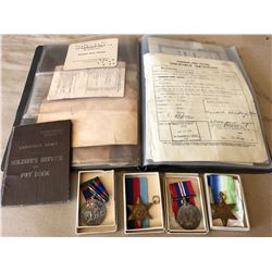 COLLECTION OF CANADIAN MILITARY KEEPSAKES