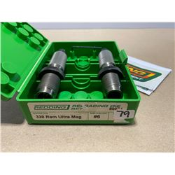 REDDING RELOADING DIE SET - .338 REM ULTRA MAG
