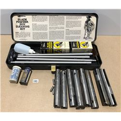 OTTERS BLACK POWDER CLEANING KIT & PACIFIC SHELL HOLDERS - MISC CAL & EUREKA ENG TAPE REPAIR KITS