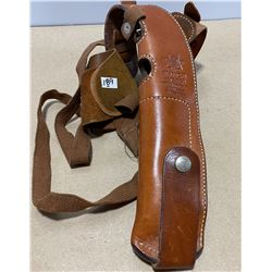 BIANCHI LEATHER S&W 9 MM HOLSTER