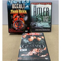 LOT OF 3 WWII DVD SETS - SOME AS NEW