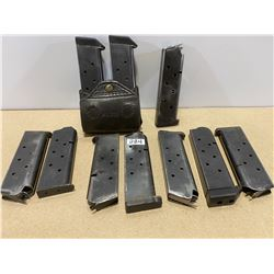 LOT OF 10 1911 .45 ACP MAGS
