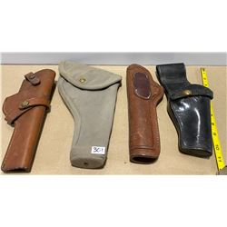 LOT OF 5 HOLSTERS