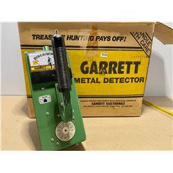 GARRETT METAL DETECTOR - GOOD WORKING CONDITION