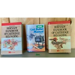 LOT OF 3 RELOADING 'HOW TO' BOOKS