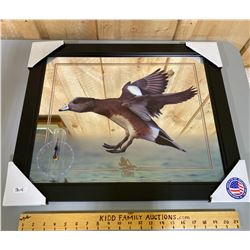 DELTA WATERFOWL WALL ART W/ CLOCK