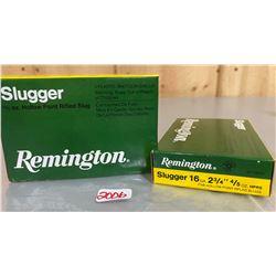 "10 X REMINGTON 16 GA SLUGGER 2 3/4"""