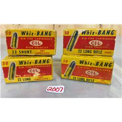200 X CIL WHIZ-BANG IN COLLECTIBLE BOXES