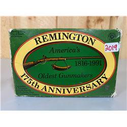 325 X REMINGTON .22 - 175TH ANNIVERSARY TIN