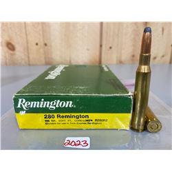 20 X REMINGTON .280 REM 165 GR