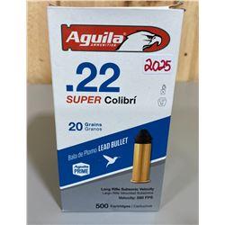 500 X AGUILA .22 LR