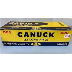 500 X CIL CANUCK .22 LR - ORIGINAL BRICK BOX
