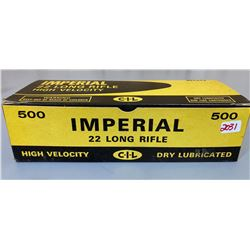 500 X CIL IMPERIAL BRICK OF .22 LR