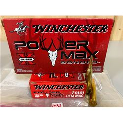 40 X WINCHESTER POWER MAX 7 MM REM MAG
