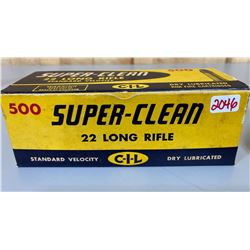 500 X CIL SUPER-CLEAN .22 LR