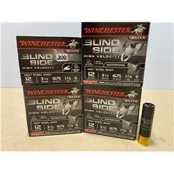 "100 X WINCHESTER BLIND SIDE 12 GA 3 1/2"" 6 SHOT"