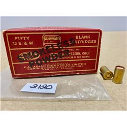 37 X .32 S&W BLANKS - COLLECTIBLE BOX