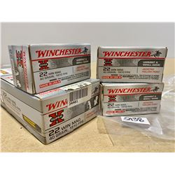 400 X WINCHESTER .22 WIN MAG 40 GR