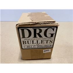 500 X .45 DRG BULLETS 200 GR - SEALED BOX