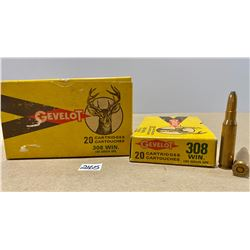 40 X GEVELOT .308 WIN - COLLECTIBLE BOXES