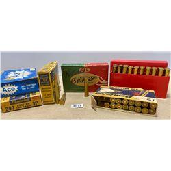 75 X .303 BRIT MIXED GR & 20 X RELOADS & 23 X BRASS
