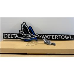 DELTA WATERFOWL ILLUMINATING SIGN - NEW