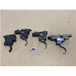 GUNSMITH'S TRIGGER LOT OF 4